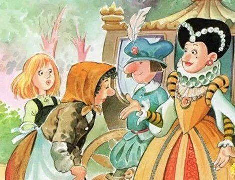 格林童话:三个纺纱女 - 第5张    深圳市羽盛信息科技有限公司